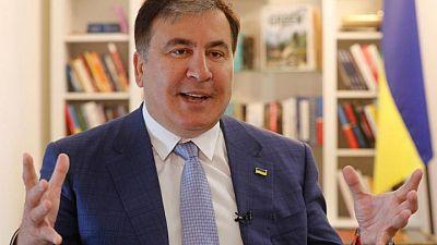 تاس: اعتقال رئيس جورجيا السابق ساكاشفيلي عقب عودته إلى البلاد
