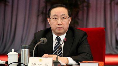 هيئة مكافحة الفساد بالصين تحقق مع وزير عدل سابق