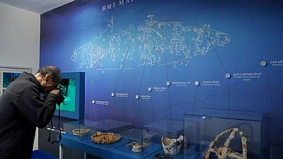 تركيا تحول حطام سفن من الحرب العالمية الأولى إلى متحف في قاع البحر