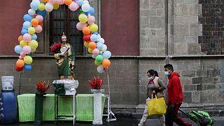 المكسيك تسجل 7369 إصابة بكوفيد-19 جديدة و614 وفاة