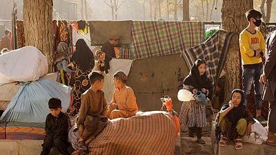 نازحون في أفغانستان يطالبون المجتمع الدولي بمساعدتهم وسط يأس متزايد