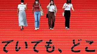 تراجع كبير لإصابات كورونا في اليابان يصيب الخبراء بالحيرة
