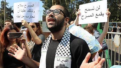 استجواب مخرج مسرحي في لبنان يؤجج القلق إزاء الحريات