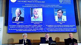 Trio win physics Nobel for work that helps understand changing climate