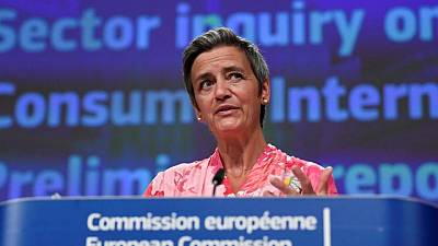 Facebook down: Outage shows need for more players in tech, EU competition chief Vestager says