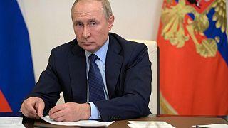 """بوتين يلقي باللوم في """"هيستريا"""" سوق الطاقة الأوروبية على مسعى الانتقال الأخضر"""