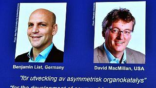 ألماني وأسكتلندي يفوزان بنوبل للكيمياء لعملهما في مجال بناء الجزيئات