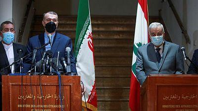 مصحح-وزير الخارجية الإيراني: مستعدون لبناء محطتين للطاقة في لبنان