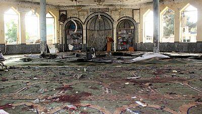 وكالة الأنباء الرسمية: انتحاري يقتل 46 في مسجد بأفغانستان