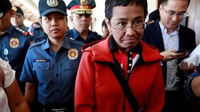 Philippine Nobel Peace Prize winner Maria Ressa calls Facebook 'biased against facts'