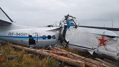 مقتل 16 في تحطم طائرة روسية تقل هواة القفز بالمظلات