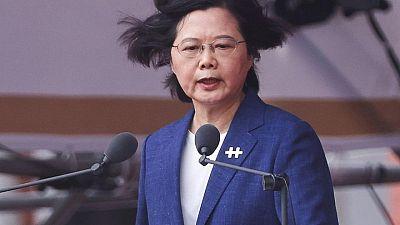 الصين تندد بكلمة رئيسة تايوان