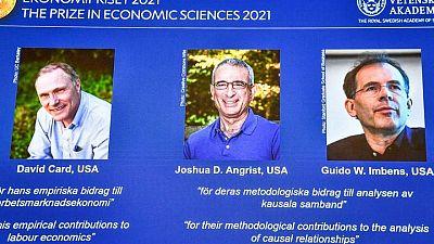 رواد تجارب طبيعية يفوزون بجائزة نوبل للاقتصاد