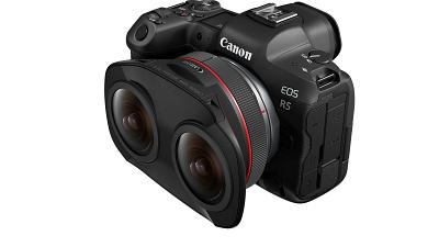 Canon revolutionises 180° VR with its innovative 3D VR system and Canon RF 5.2mm F2.8L DUAL FISHEYE lens