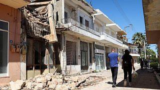زلزال قوي يضرب جزيرة كريت مسببا أضرارا بسيطة دون ضحايا