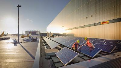 DHL Global Forwarding and TotalEnergies partner to develop a solar project
