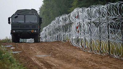 Polonia planea gastar más de 350 millones de euros en un muro en la frontera con Bielorrusia