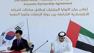 اتفاق الإمارات وكوريا الجنوبية على إجراء محادثات لإبرام صفقة تجارية