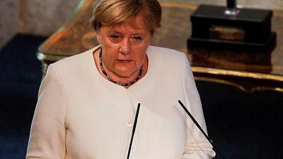 ميركل: أوروبا يمكنها التعامل مع صعود الصين إذا تحدثت بصوت واحد