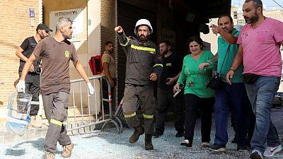 بيان من حزب الله: مجموعات من حزب القوات اللبنانية هاجمت المحتجين