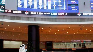 معظم بورصات الخليج تغلق مرتفعة مع صعود أسعار النفط
