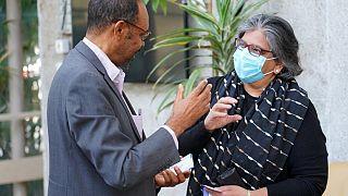 U. S. Ambassador Geeta Pasi and Assistant to the Administrator of USAID's Bureau for Humanitarian Assistance Sarah Charles visit Bahir Dar