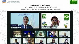 The 2nd ICD - CIBAFI Webinar Discussed the Emergence of Cryptocurrencies and its Potential for the Growth of Islamic Finance Industry